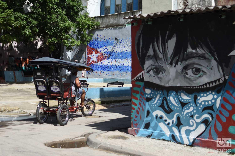 San Isidro y Habana. Foto: Otmaro Rodríguez