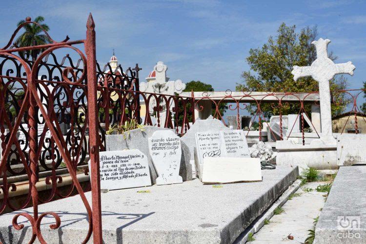Tumba de Alberto Yarini en el cementerio de Colón, La Habana. Foto: Otmaro Rodríguez.