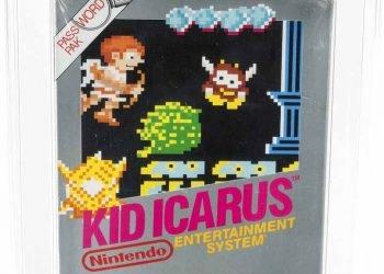 """En esta imagen cortesía de Heritage Auctions, aparece una copia cerrada del videojuego clásico de Nintendo de 1987, """"Kid Icarus"""", perteneciente a Scott Amos, de Reno, Nevada. (Heritage Auctions via AP)"""