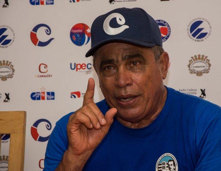 El experimentado manager cubano Miguel Borroto. Foto: Leandro Pérez / Juventud Rebelde / Archivo.
