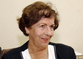 La académica cubana, profesora universitaria y panelista televisiva, Dra. María Dolores Ortiz, Premio Nacional de Televisión 2020. Foto: Trabajadores / Archivo.