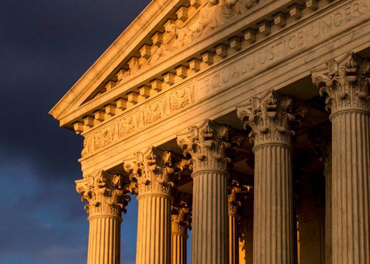 La Corte Suprema en Washington DC.  Foto: J. Scott Applewhite/AP.