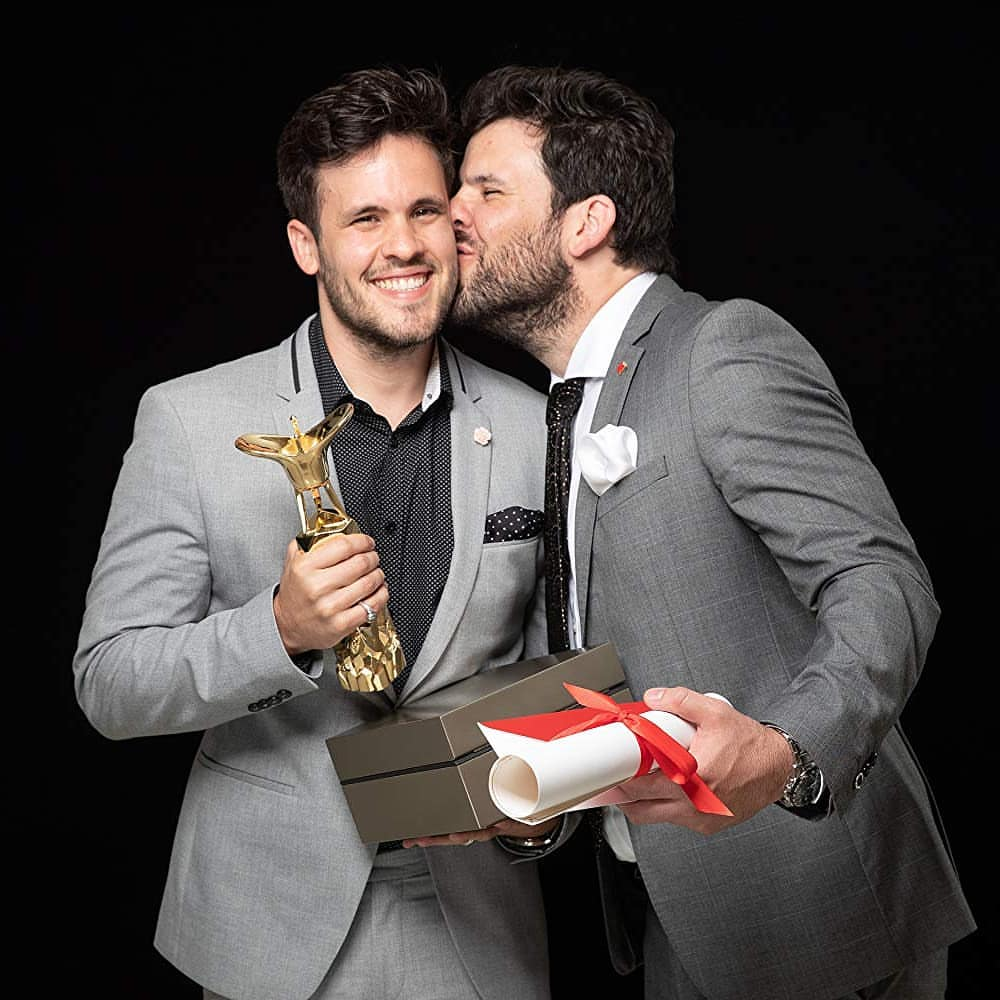 Rodrigo (izquierda) y Sebastián (derecha)