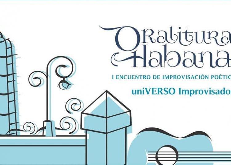I Encuentro de Improvisación Poética Oralitura Habana 2019