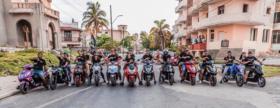 Club de motos electricas en cuba