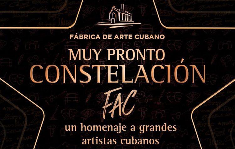 Constelación FAC, nuevo proyecto de la Fábrica de Arte Cubano