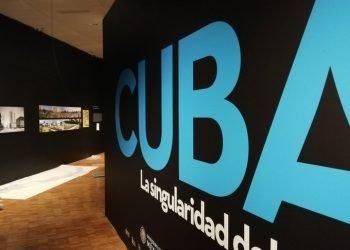 """Exposición """"Cuba. La singularidad del diseño"""", inaugurada el 5 de octubre de 2019 en el Museo de Arte Moderno en Ciudad de México. Foto: @SCT_mx / Twitter."""