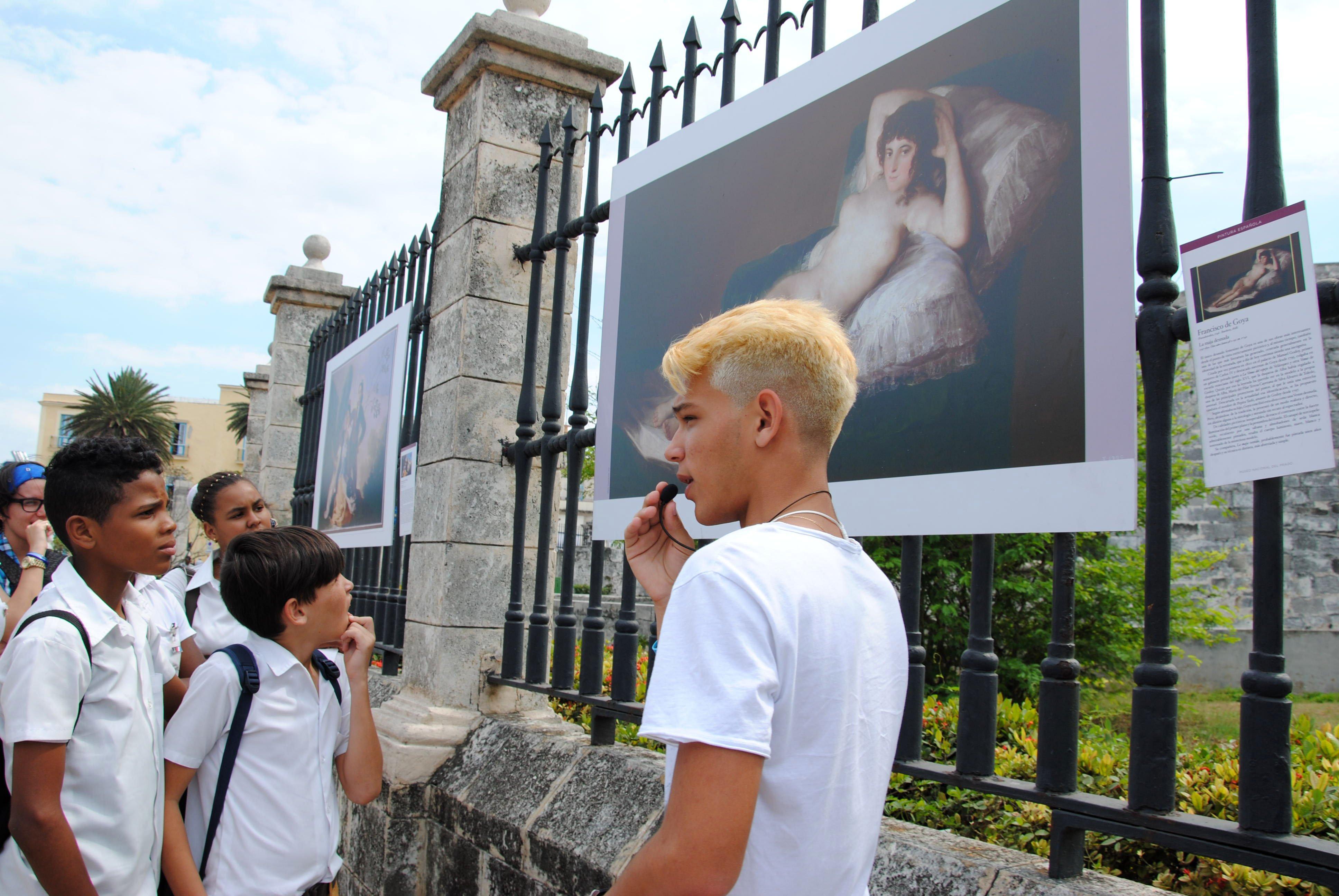 Exposición Museo del Prado en La Habana-2016