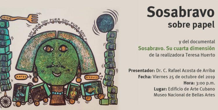 Libro-Sosabravo sobre papel-Alfredo Sosabravo