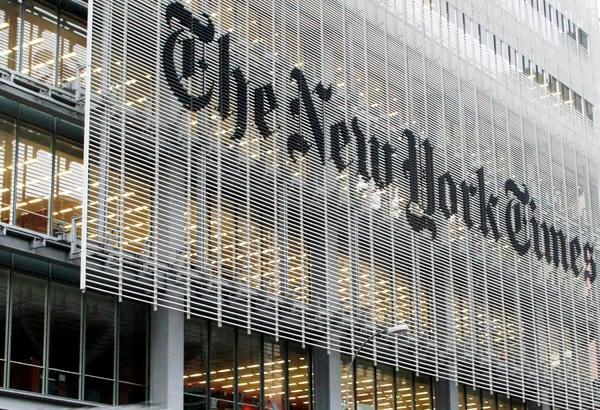 El edificio del New York Times en Nueva York. Foto: Richard Drew / AP.