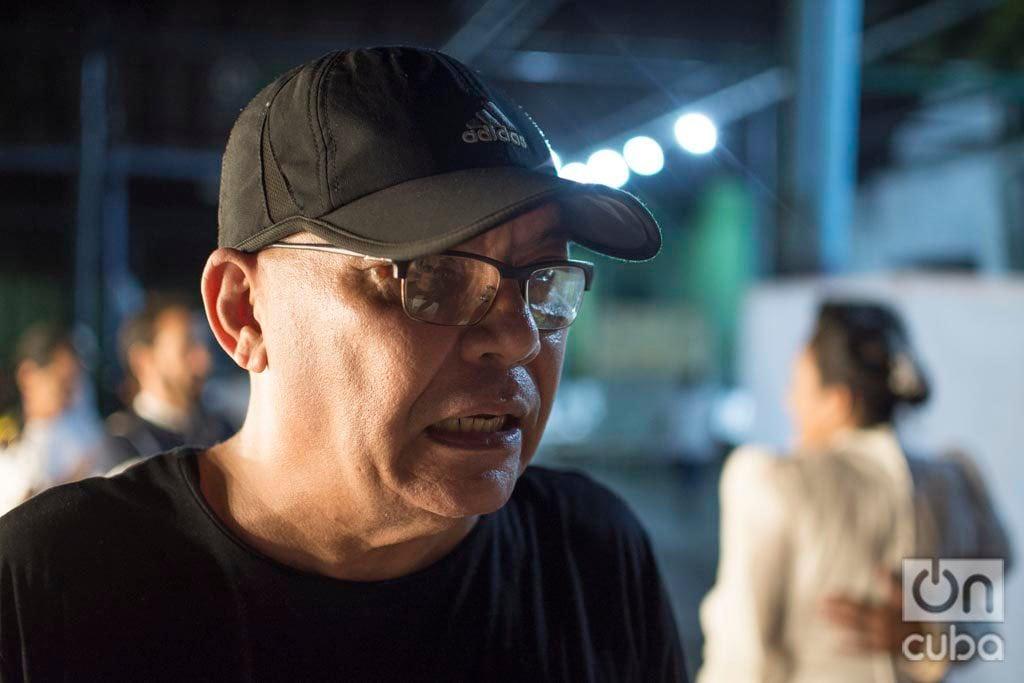 Nestor Jiménez en Oficio de isla. Foto: Otmaro Rodríguez