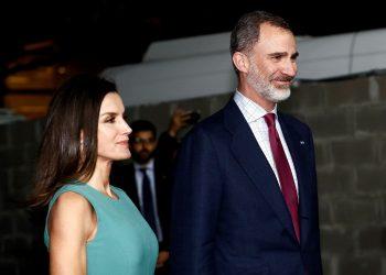 El rey Felipe VI y la reina Letizia de España. Foto: EFE.