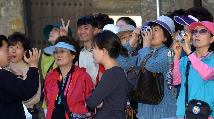 Turistas chinos. Foto: EFE / Archivo.