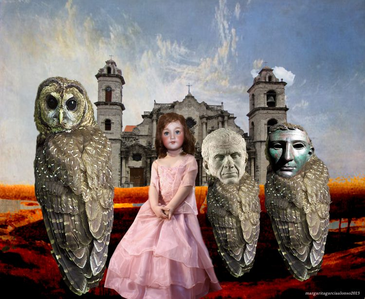 Collage de Margarita García Alonso.