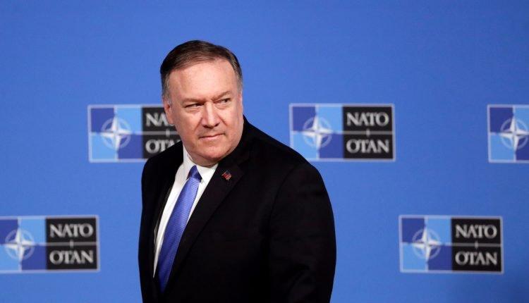 El secretario de Estado Mike Pompeo durante un reunión de la OTAN en Bruselas el miércoles. Foto: EFE/EPA/OLIVIER HOSLET
