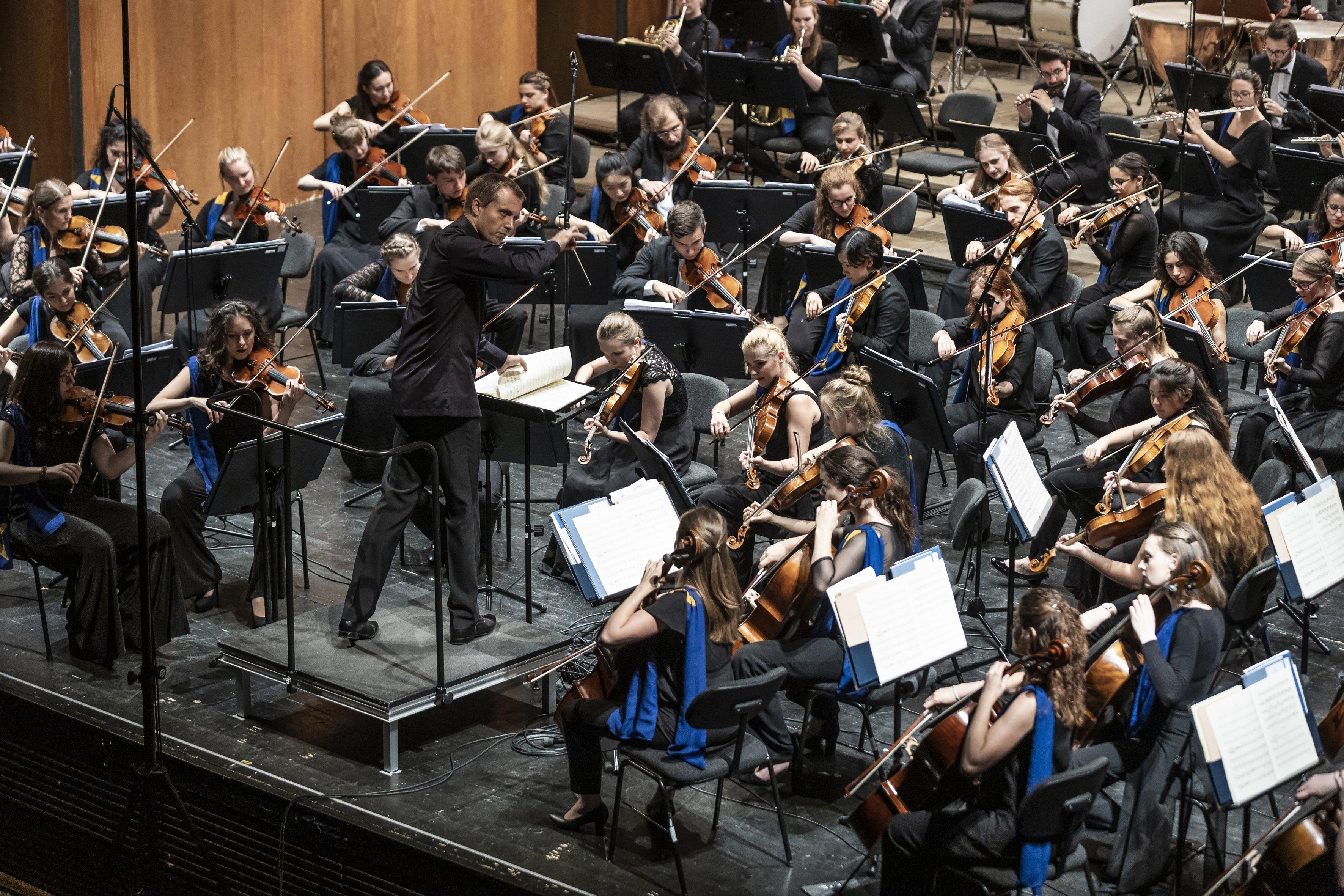 EUYO en Bolzano Festival 2019. Foto: Tiberio Sorvillo