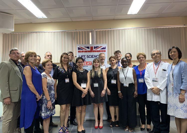 Foto: Cortesía de la Embajada del Reino Unido en La Habana.