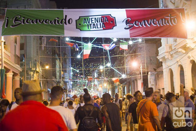 Calle Galiano-Avenida Italia-La Habana-2019