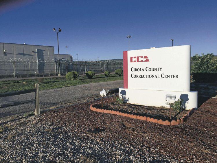 La cárcel de ICE en el condado de Cibola, Nuevo México, donde se encuentran aislados los cubanos. Foto: ICE.