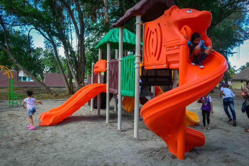 Parque Infantil ubicado en el Gran Parque Metropolitano de La Habana. Foto: Yaciel de la Peña / ACN.