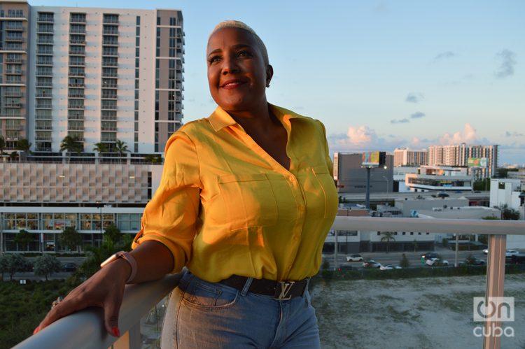 Haila en Miami. Foto: Marita Pérez Díaz.
