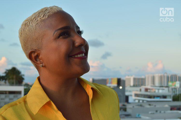 Haila en Miami. Foto:Marita Pérez Díaz.