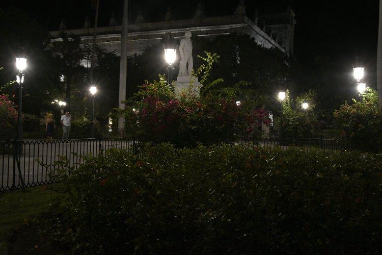Plaza de Armas-nuevas luces-trabajadores.cu