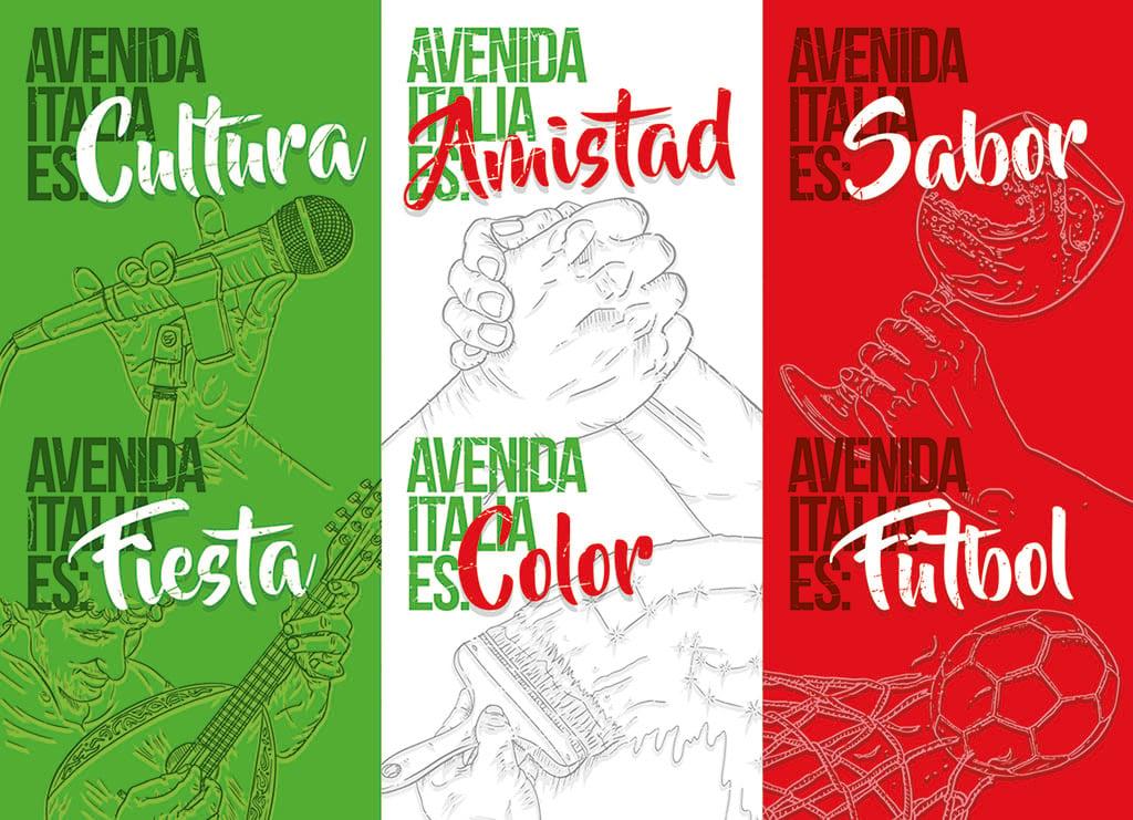Avenida Italia-poster promocional