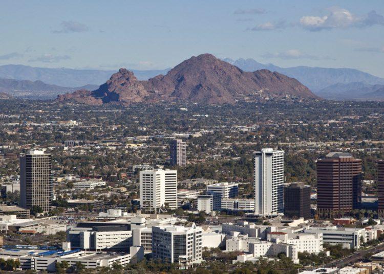 Phoenix, la capital de Arizona. Foto: AP.