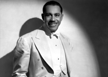 Cab Calloway. Foto: James J. Kreigsman.
