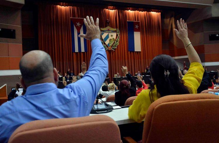 Foto: @AsambleaCuba / Twitter / Archivo.