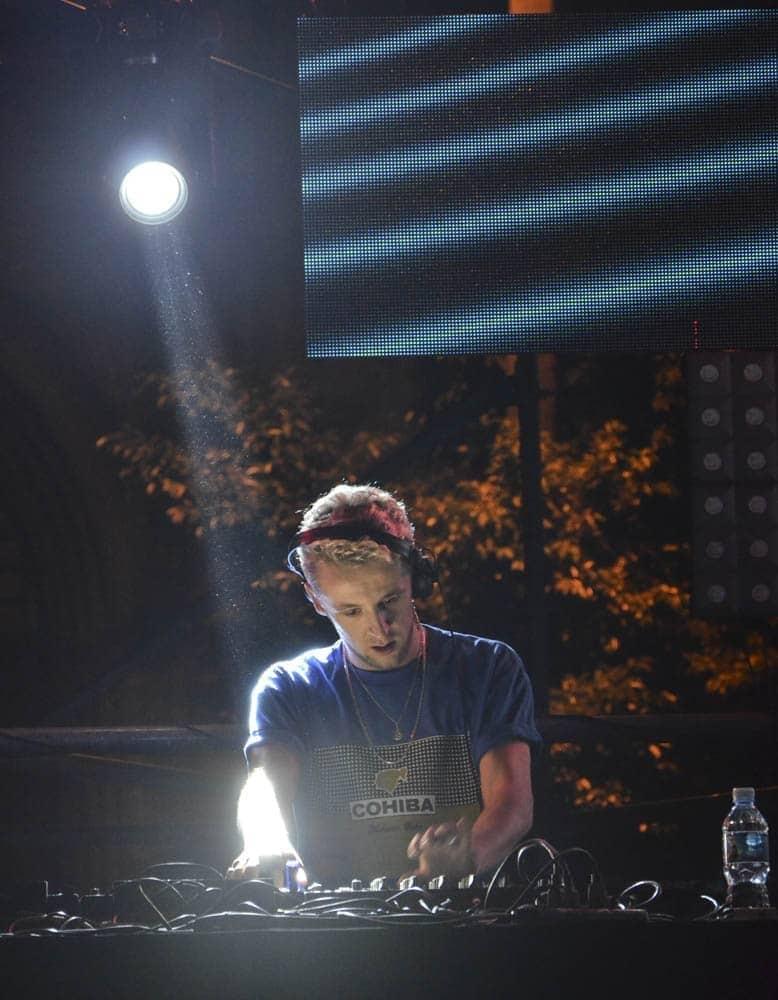 Dj Sulta protagonizó un concierto de dos horas en La Habana. Foto: Adolfo Izquierdo