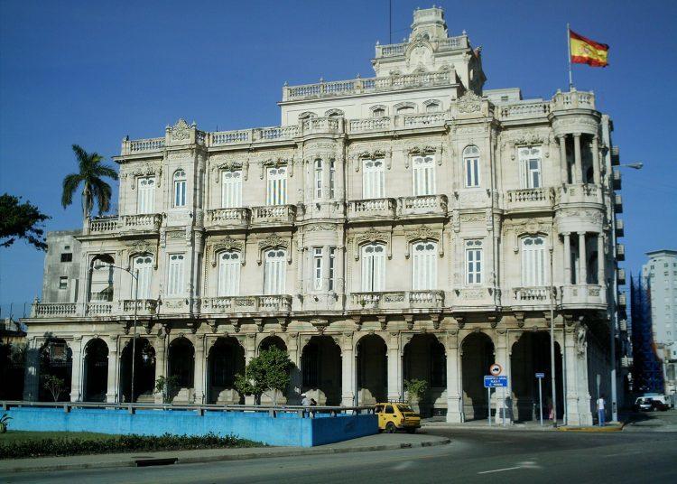 Embajada de España en La Habana. Foto: exteriores.gob.es