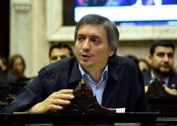Máximo Kirchner. Foto: EFE.