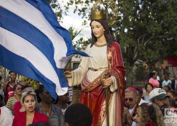 El 4 de diciembre se celebra el dia de Santa Barbara, fecha el cual se supone, su padre le quito la vida. Foto: Otmaro Rodríguez