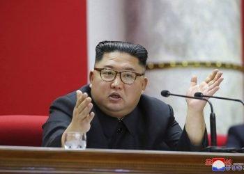 Kim Jong Un. Foto: Agencia Central de Noticias de Corea vía AP.