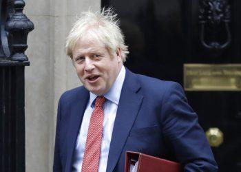 El primer ministro británico Boris Johnson en 10 Downing Street en Londres el 22 de enero del 2020. Foto: Kirsty Wigglesworth / AP.