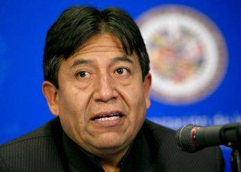 El partido MAS, del expresidente Evo Morales, anunció que David Choquehuanca, indígena aymara, es su candidato a la presidencia para las elecciones del 3 de mayo. (AP Foto / Jacquelyn Martin, Archivo)