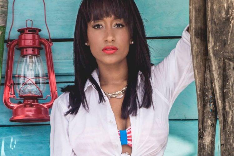 La joven actriz cubana Edenis Sánchez. Foto: Archivo.