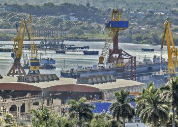 Empresa Nacional de Astilleros de Cuba. Foto: Heriberto González / Trabajadores.