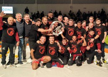 Escuadra del club Germania Weingarten, campeón de la Bundesliga Alemana de Luchas. Foto: SV Germania 04 Weingarten/Facebook