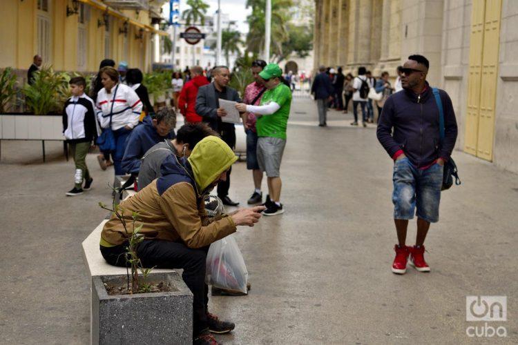 Bajas temperaturas en Cuba. Foto: Otmaro Rodríguez.