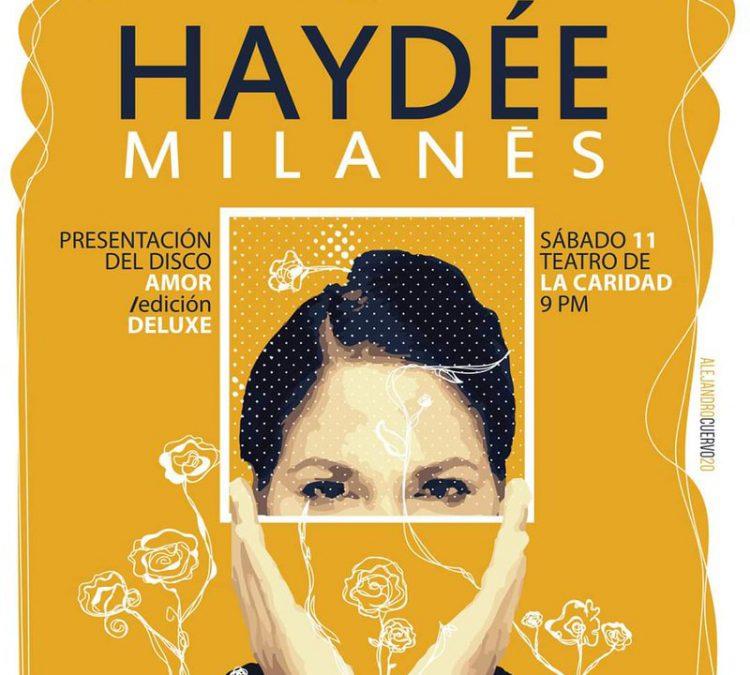 Haydée Milanés-Teatro La Caridad-Longina-2020-Amor Deluxe