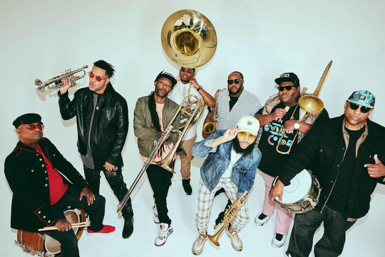 La banda estadounidense The Soul Rebels, una de las atracciones del festival Jazz PLaza 2020. Foto: nola.com