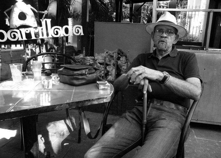 """Serafín """"Tato"""" Quiñones (1942-2020). Foto: Rui Ferreira."""