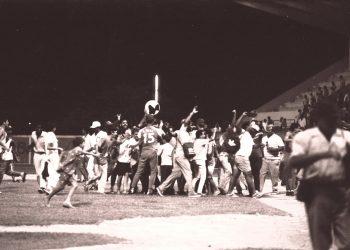 Han pasado 29 años desde el triunfo de Henequeneros en la Serie 30, el último título matancero en el béisbol cubano. Foto: Paquito Quintana.