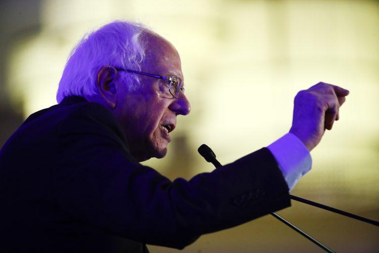 El senador Bernie Sanders en Carolina del Sur, el 24 de febrero de 2020. Foto: Matt Rourke/AP.
