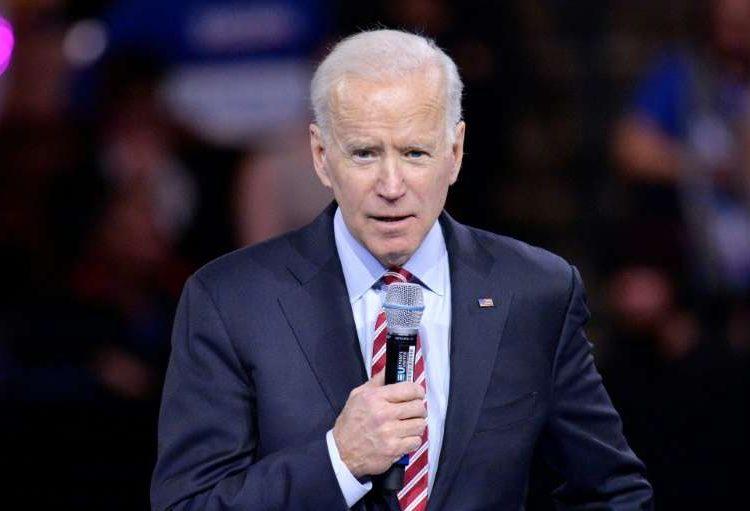 El ex vicepresidente Joe Biden y candidato Joe Biden. Foto: Robert F. Botary/AP.