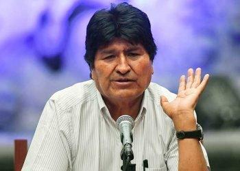 Evo Morales, foto tomada de Telam.