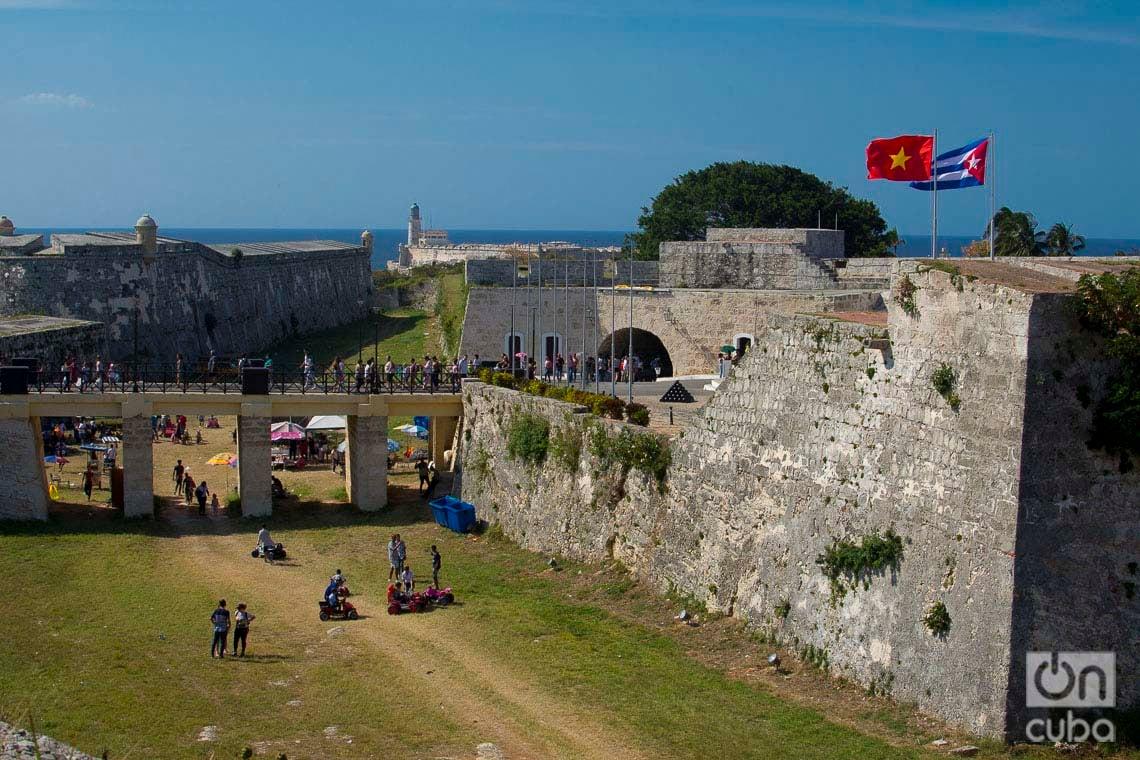 Feria Internacional del Libro de La Habana 2020 en la fortaleza de San Carlos de La Cabaña. Foto: Otmaro Rodríguez.